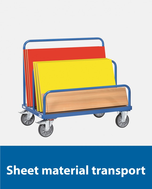 Sheet material transport