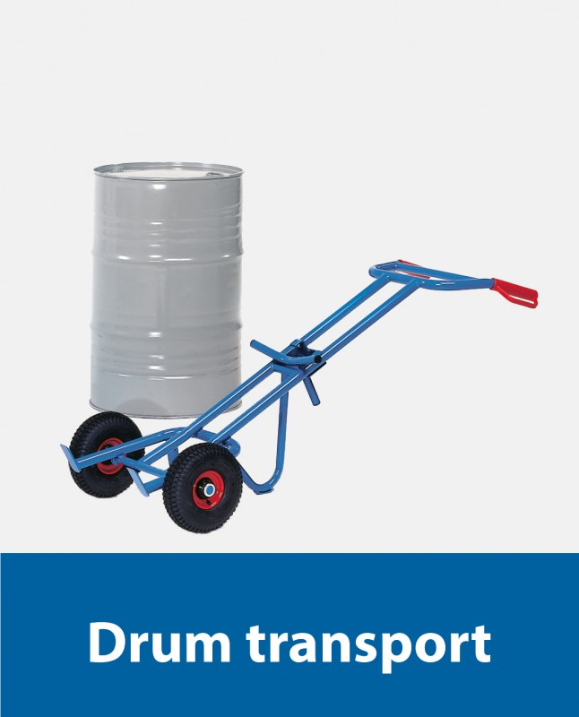 Drum transport