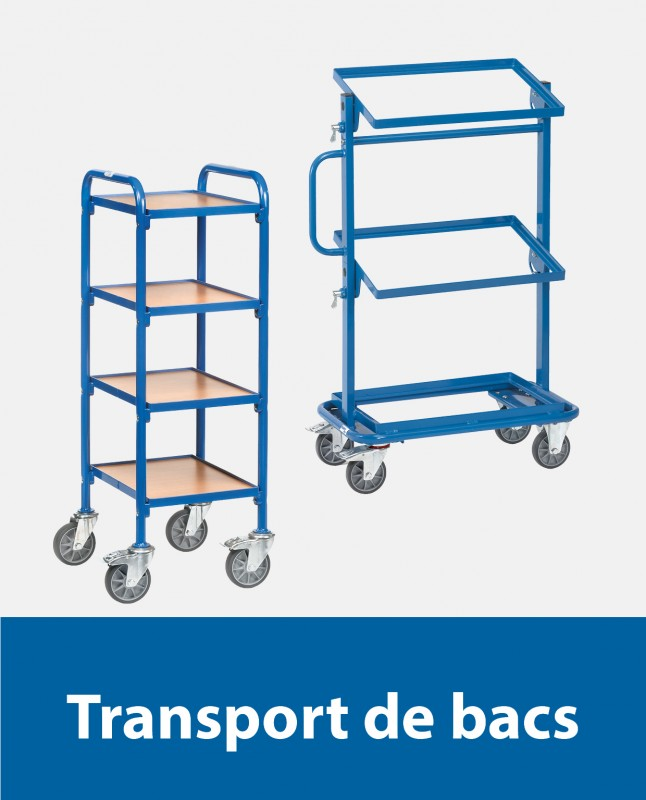 Transport de bacs