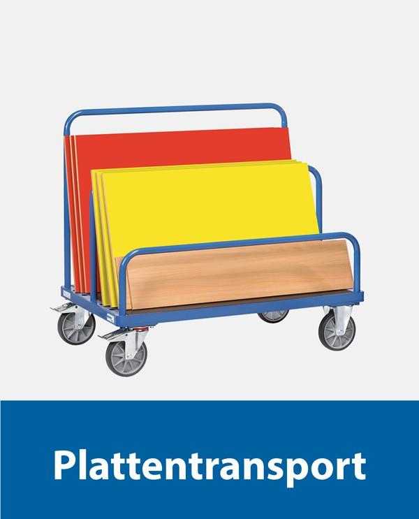 Plattentransport