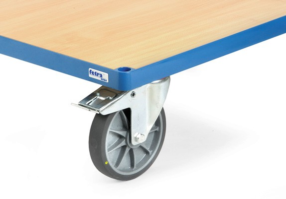 Räder mit elektrisch leitfähiger TPE-ESD Bereifung
