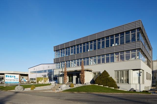 Verwaltungsgebäude von fetra